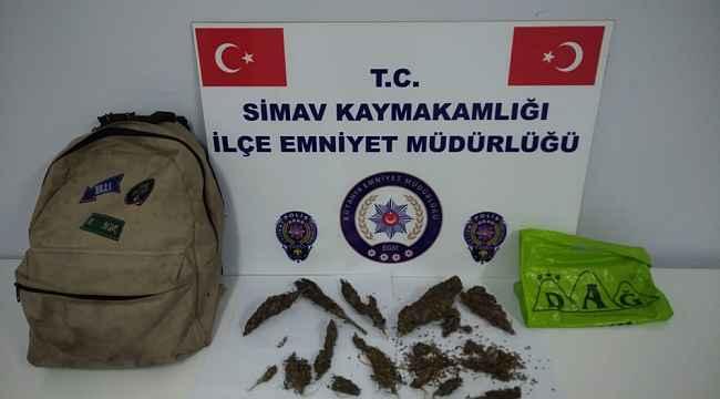 Simav'da uyuşturucu ve uyarıcı madde operasyonu