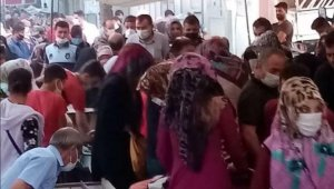 Sosyal mesafeye uymayan vatandaşlara polis müdahale etti