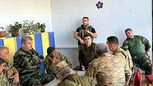 Sözde Karabağ lideri, taktik toplantısını anaokulunda gerçekleştirdi