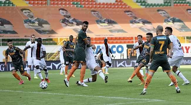 Süper Lig: Aytemiz Alanyaspor: 1 -Fatih Karagümrük: 0