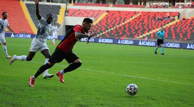 Süper Lig: Gaziantep FK: 0 - İ.H. Konyaspor: 0