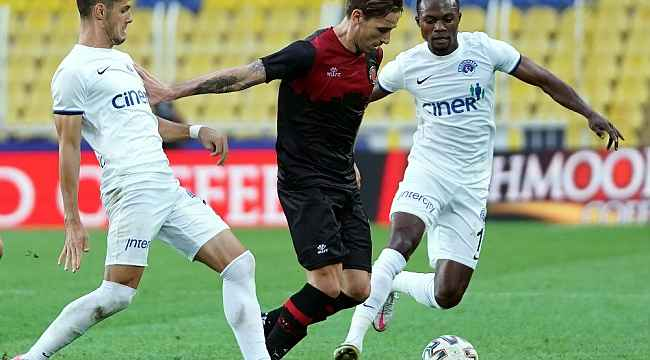 Süper Lig: Karagümrük: 1 - Kasımpaşa: 1