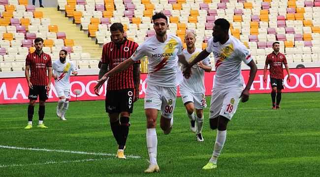 Süper Lig: Yeni Malatyaspor: 2 - Gençlerbirliği: 1