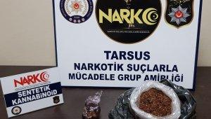 Tarsus'ta uyuşturucu operasyonu: 9 gözaltı