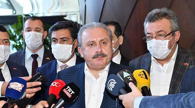 TBMM Başkanı Mustafa Şentop Azerbaycan'da