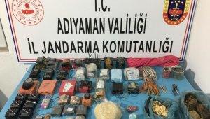 Teröristlerin gömdüğü patlayıcılar bulundu