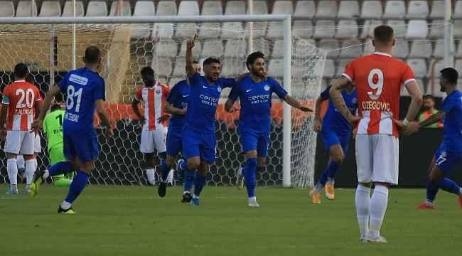TFF 1. Lig: Adanaspor: 1 - Tuzlaspor: 3