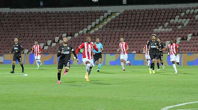 TFF 1. Lig: Balıkesirspor: 0 - Boluspor: 0
