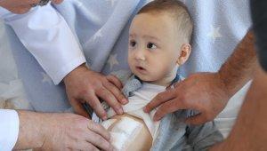 Tıpta nadir rastlanan durum: 1 yaşındaki bebeğin safra kesesinden 5 taş çıkarıldı