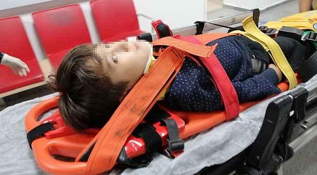 Trafonun çatısından düşen çocuk yaralandı
