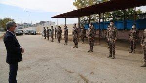 Tunceli'den PÖH'ler dualarla Suriye'ye uğurlandı