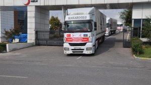 Türk Kızılayı'ndan Azerbaycan'a yardım eli