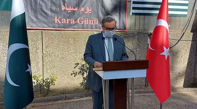 """Türkiye Keşmirlileri unutmuyor: """"Kara Gün'de hayatını kaybedenler anıldı"""""""