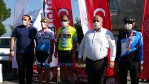 Türkiye Masterlar Bisiklet Yol Şampiyonası'nda ilk gün tamamlandı