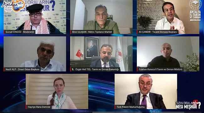 """TÜRKPATENT Başkanı Asan: """" YÖREX seferberlik başlattı """""""
