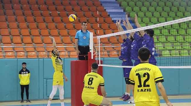 TVF 2. Lig: Elazığ Aksaray Gençlik: 1 - Kahramanmaraş Atcı Gençlik: 3