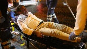 Ünlü CEO TEM'de hurdaya dönen lüks cipinden yaralı kurtuldu