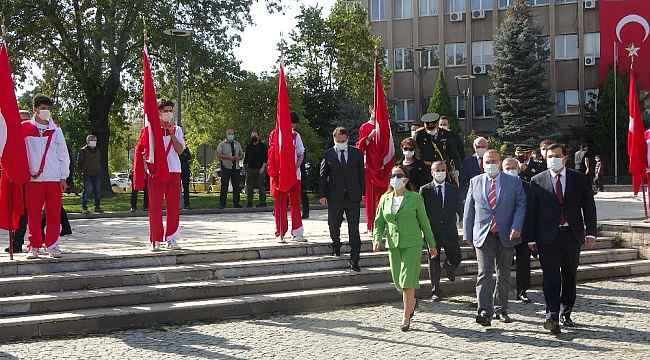 Uşak'ta 29 Ekim kutlamaları başladı