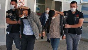 Uyuşturucu hapla yakalanan 3 kişi adliyede