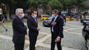 Vali Şıldak, Başkan Deveciler'i ziyaret etti