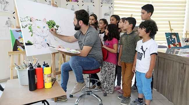Van Büyükşehir Belediyesinin resim kursu kayıtları başladı