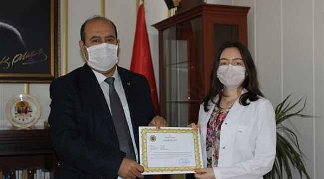 Vefa Sosyal Destek Grubu başarı belgesi ile ödüllendirdi
