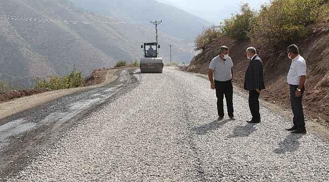Yahyalı Belediyesi yıl çalışmalarına hızla davam ediyor