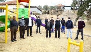 Yenipazar'ın Paşaköy Mahallesi yeni parkına kavuşuyor