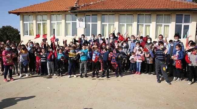 YTB Başkanı Eren, Kuzey Makedonya'da Yörük köylerini ziyaret etti