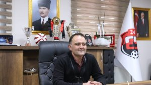 """24Erzincanspor Başkanı Keleş: """"Hedefimize doğru emin adımlarla ilerleyeceğiz"""""""