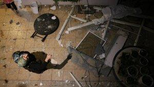 6 katlı binada sıkışan doğalgaz bomba gibi patladı
