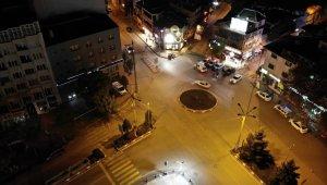 Afyonkarahisar'da sokağa çıkma kısıtlaması başladı