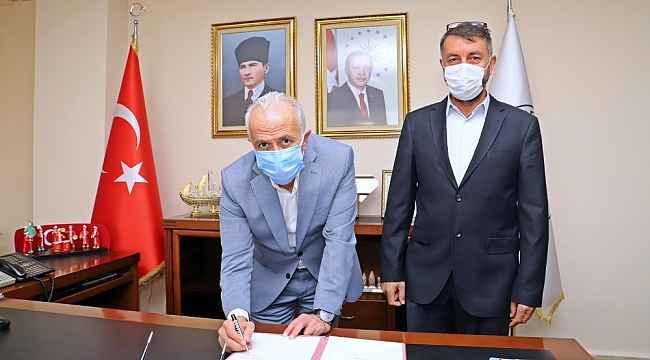 Akdeniz Belediyesi, Zirve Dağcılık Kulübü ile protokol imzaladı