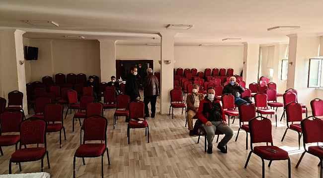 Alaplı'da Çimento limanı ÇED toplantısı yapıldı