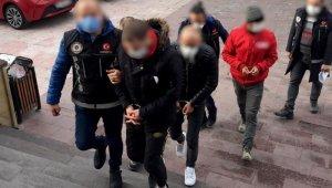 Avanos'ta uyuşturucu taciri 3 kişi tutuklandı