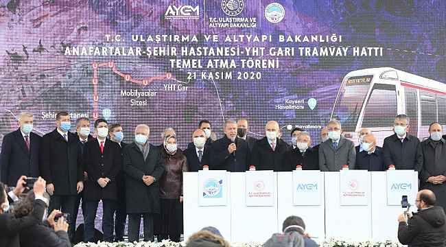 """Bakan Karaismailoğlu: """"Kayseri'yi hızlı demir yolu ile tanıştıracağız"""""""