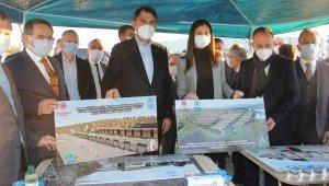 Bakan Kurum, Türkiye'nin en büyük sanayi dönüşümlerinden biri olacak alanı inceledi