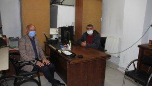 Başkan Altın'dan gazetecilere ziyaret