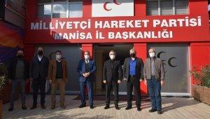 Başkan Çerçi'den MHP ve CHP'ye hayırlı olsun ziyareti