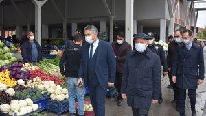 Başkan Çolakbayrakdar'dan pazar denetimi