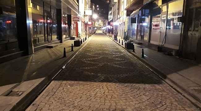 Bayburt sokakları sessizliğe büründü