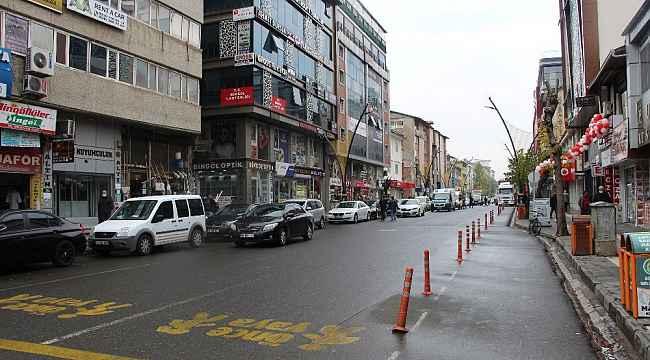 Bingöl'de sokaklar Covid-19 tedbirleriyle sakinledi