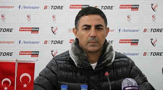 Boluspor - Ankaraspor maçının ardından