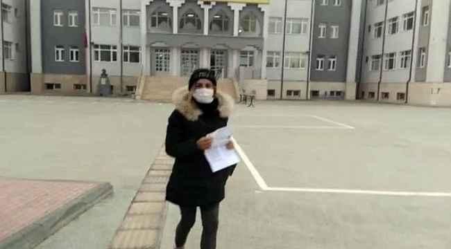 Bu sefer suçluları yakalamak için değil sınava girecek adaylar için gaza bastılar