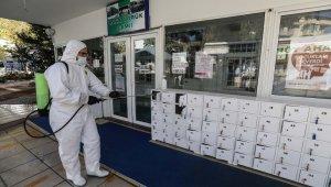Buca'da korona virüse karşı üst düzey güvenlik önlemleri