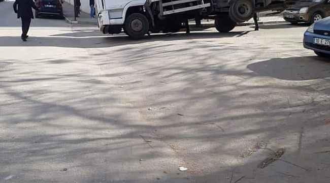 Bursa'da çekicinin iş kazası - Bursa Haberleri