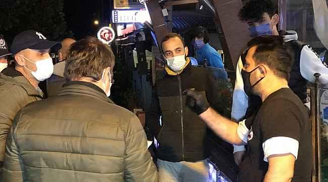 Bursa'da kısıtlamanın ilk dakikalarında polis ekiplerinden denetim - Bursa Haberleri