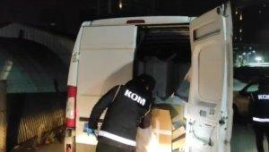 Bursa'da minibüs ile getirilen 750 bin adet doldurulmuş makaron ele geçirildi - Bursa Haberleri