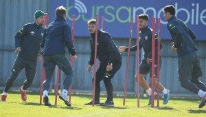 Bursaspor, Altay maçı hazırlıklarını tamamladı - Bursa Haberleri