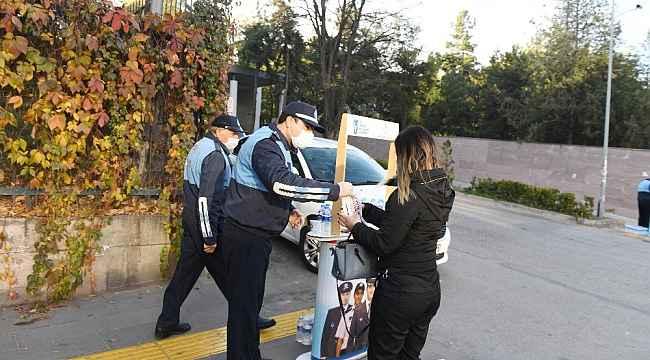 Büyükşehir, sınav heyecanı yaşayan adayları yalnız bırakmadı